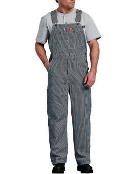 Hickory Striped Bib Overalls